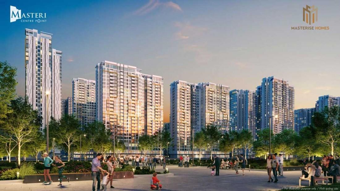 Chủ đầu tư Masterise Homes chính thức công bố mở bán dự án Masteri Centre Point