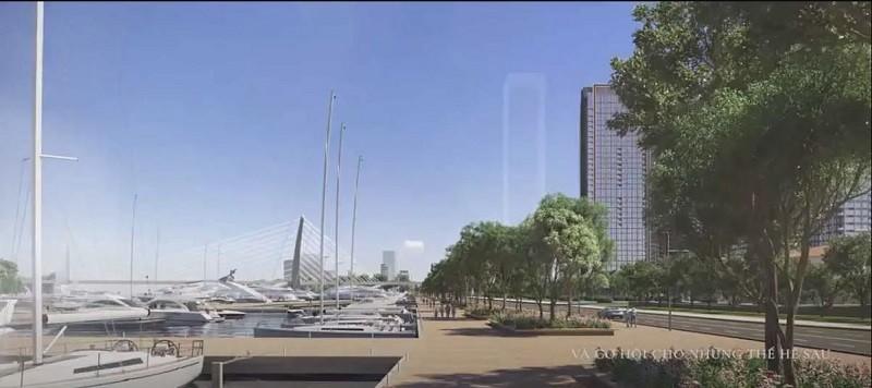 Grand Marina Saigon sở hữu bến du thuyền đẳng cấp 5 sao
