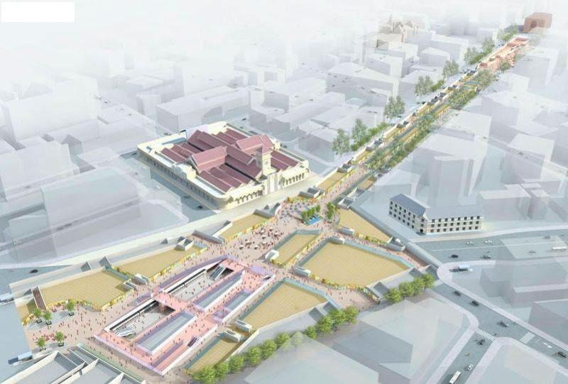 Cú hích từ ga Bến Thành làm tiềm năng tăng giá dự án One Central SaiGon rất dễ xảy ra