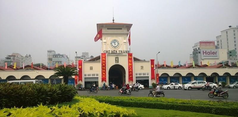 Dự án nằm ngay đối diện khu chợ Bến Thành nhộn nhịp và sôi động của thành phố Hồ Chí Minh