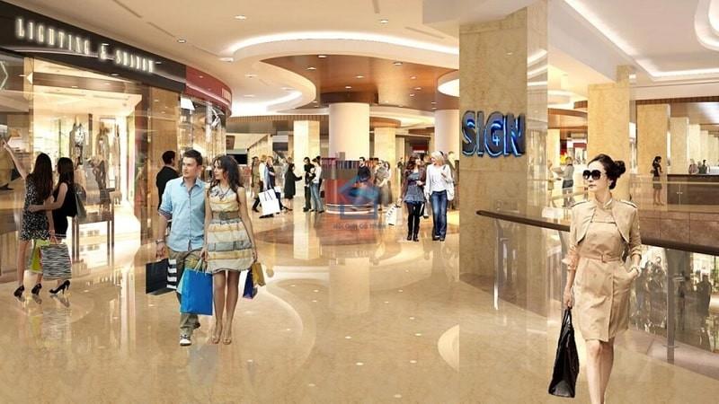 Dự án sở hữu trung tâm thương mại cao cấp đáp ứng nhu cầu mua sắm thả ga của cư dân