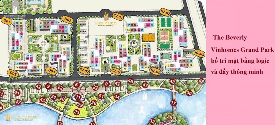 The Beverly sẽ được xây dựng thành tiểu phân khu nhỏ